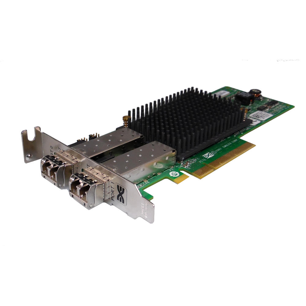 Dell X803K PCIe x8 HBA 2-Port 8GB Fibre Channel Host Adapter | Emulex LPE12002